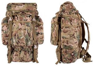 【送料無料】キャンプ用品 molleバックパックリュックサックベルゲンパック60ポンドbtpバッグ