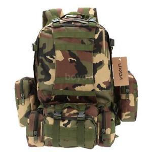 【送料無料】キャンプ用品 バックパックmolleキャンプハイキングバッグd1k9