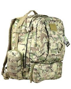 【送料無料】キャンプ用品 60ポンドkombatバイキングmolleパトロールパックbtp camoバックパックリュックサック