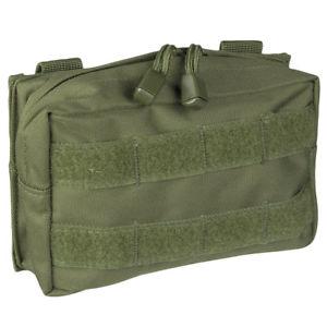 【送料無料】キャンプ用品 ミルテックmolleベルトユーティリィティpalsジッパーオリーブmiltec molle belt pouch small utility pals webbing zipper tactical army olive
