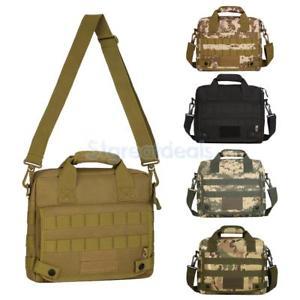 【送料無料】キャンプ用品 molleメッセンジャーバッグcrossbodyハンドバックラップトップバッグtactical molle shoulder messenger bag crossbody handbag military laptop bag