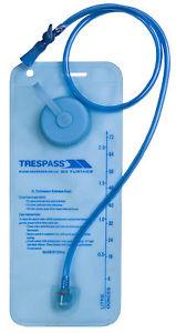 【送料無料】キャンプ用品 サイクリングx 2ポンドtrespass hydration x 2l hydration water bladder pouch walking cycling