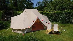 【送料無料】キャンプ用品 6mキャンバステント テントglamping6m canvas emperor bell tent glamping equipment by king tents