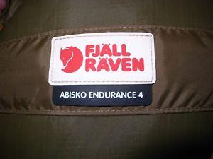 【送料無料】キャンプ用品 アビスコテント¥fjallraven abisko endurance 4 tent sand colour rrp 1155