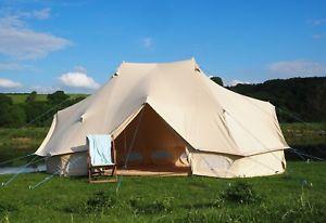 【送料無料】キャンプ用品 テントブティックzig6×4メーターテント100キャンバス6 x 4 metre emperor bell tent 100 canvas with zig by bell tent boutique