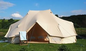 【送料無料】キャンプ用品 テントブティックグラウンドシートジッパーテント100キャンバスemperor bell tent 100 canvas zipped in groundsheet by bell tent boutique