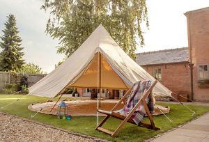 【送料無料】キャンプ用品 メートルキャンバスジグザグベルベルテントブティックテント5 metre canvas zig bell tent by bell tent boutique