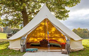 【送料無料】キャンプ用品 テントブティックストーブ5mfireproof zigテント360gsm5m fireproof zig bell tent 360gsm with stove hole by bell tent boutique