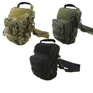 【送料無料】キャンプ用品 コンバットエクスプローラーショルダーバッグkombat uk hex tac explorer shoulder bag military army cadet camo