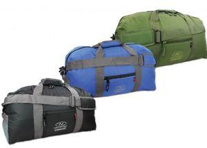 【送料無料】キャンプ用品 キットバッグ45ポンドスーツケースhighlander cargo 45l holdall heavy duty travel cargo kit sports camping bag