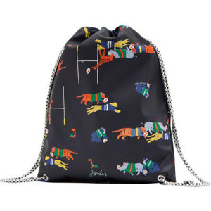 【送料無料】キャンプ用品 ジュールゴムドローストリング 1ジャングルスクラムサイズjoules boys rubber drawstring kids bag dry navy jungle scrum one size
