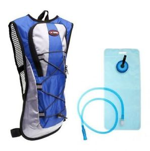 【送料無料】キャンプ用品 2 xハイキングサイクリングパックバックパックバッグリュックサック2ポンド