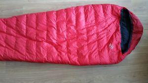 【送料無料】キャンプ用品 ロングzipphdミニム300phd minim 300 down sleeping bag, red, long, no zip