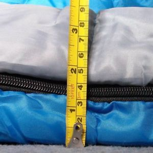 キャンプ用品 ダブルxl 4400gsm converts2シングルスレッドストーンsleeping bag double xl 4 season 400gsm converts to 2 singles redstone