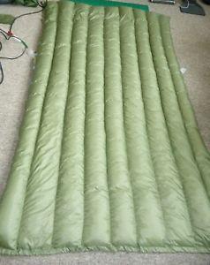 【送料無料】キャンプ用品 トップキルト860full length ultra light weight top quilt 860 down