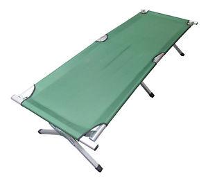 【送料無料】キャンプ用品 キャンプベッドアルミニウムfree carry bagfolding camping camp bed heavy duty light aluminium steel legs free carry bag