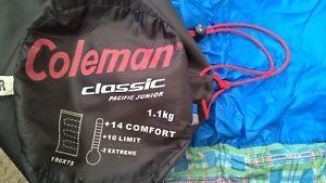 【送料無料】キャンプ用品 クラシックパシフィックジュニア listingcoleman classic pacific junior rectangle envelope sleeping bag r