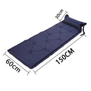 【送料無料】キャンプ用品 マットレスパッドバッグキャンプマットベッドsingle self inflating camping roll mat inflatable bed sleeping mattress padbag