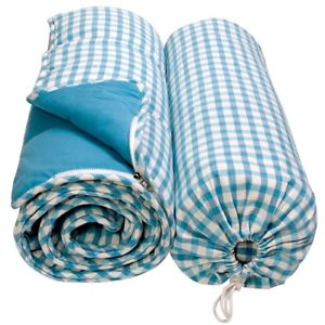 【送料無料】キャンプ用品  win green childrens blue sleeping bag