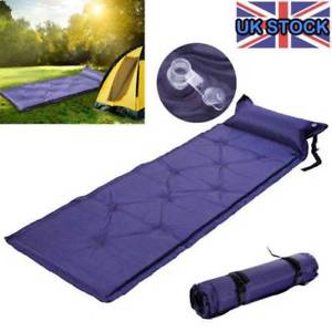 【送料無料】キャンプ用品 self inflating camping mat single roll pad inflatablebed sleeping mattress bagself inflating camping mat single roll pad i