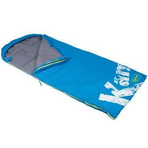 【送料無料】キャンプ用品 kampakampa mars junior envelope sleeping bag blue colour