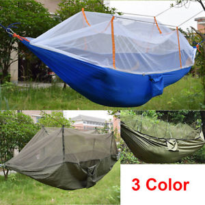 【送料無料】キャンプ用品 テントジャングルポータブルナイロンハンモック