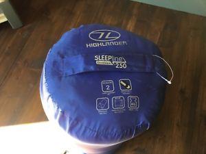 【送料無料】キャンプ用品 sleepline 250highlander sleepline 250 envelope sleeping bag