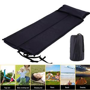 【送料無料】キャンプ用品 キャンプマットベッドダブルマットレスdouble self inflating camping roll mat camp bed inflatable sleeping mattress