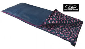 【送料無料】キャンプ用品 スコットランドhighlander floral ladies envelope flower camping travel festival sleeping bag
