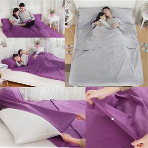 【送料無料】キャンプ用品 ライナーキャンプy8travel rectangle envelope cotton double sleeping bag liner inner camping shee y8