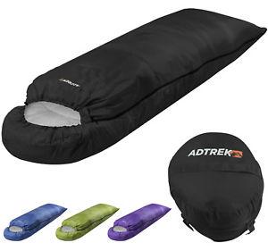 【送料無料】キャンプ用品 フードシーズンキャンプadtrek hood 400 34 season single enveloperectangle camping sleeping bag