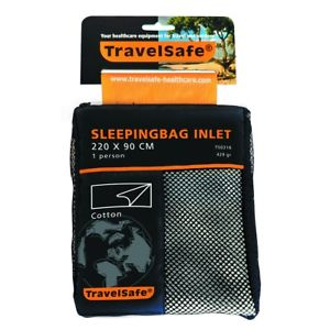 【送料無料】キャンプ用品 バッグライナーtravelsafe sleeping bag inlet liner envelope cotton ts0316 lightweight thin
