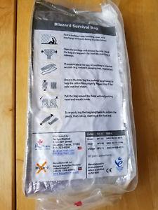 【送料無料】キャンプ用品  blizzard survival sleeping bagsilver