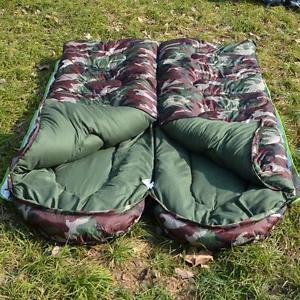 【送料無料】キャンプ用品 ハイキング3シーズンジッパーwaterproof envelope adult warm sleeping bags zip 3 season single camping hiking