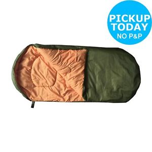 【送料無料】キャンプ用品 250gsmbig sleep 250gsm kids sleeping bag green