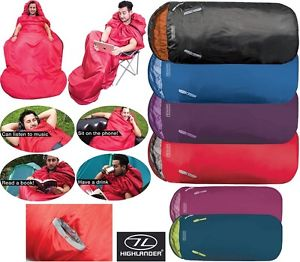 【送料無料】キャンプ用品 アームホールフェスティバルchildrens xladults camping sleeping bag travel arm holes festival kids childrens xl large