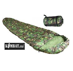 【送料無料】キャンプ用品 dpm camoコンパクトarmy combat military compact lightweight travel camping sleeping bag dpm camo
