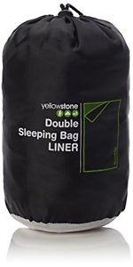 【送料無料】キャンプ用品 イエローストーンバッグライナーダブルyellowstone double sleeping bag liner multicolour