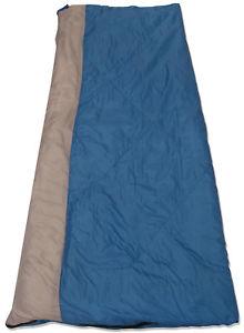 【送料無料】キャンプ用品 4シーズンbluegrey convertible 4 season rated single rectangle camping sleeping bag