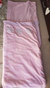 【送料無料】キャンプ用品 great little trading company pink soft fleececotton flowersleeping bag*rrp65great little trading company pink soft fleecec