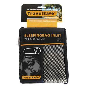 【送料無料】キャンプ用品 バッグインレットシールドミイラtravelsafe sleeping bag inlet liner mummy cotton ts0315 lightweight thin