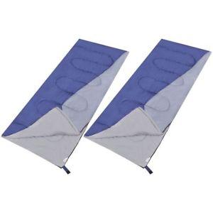 【送料無料】キャンプ用品 2 rectangular lightweight single sleeping bag camping 2 quantities selectable