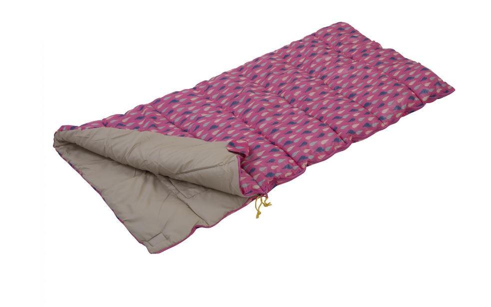 【送料無料】キャンプ用品 レガッタレースマウイピンクregatta maui kids sleeping bag pretty pink