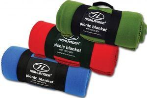 【送料無料】キャンプ用品 ハンドルピクニックfleece blanket warm soft lightweight construction picnic blanket with handle