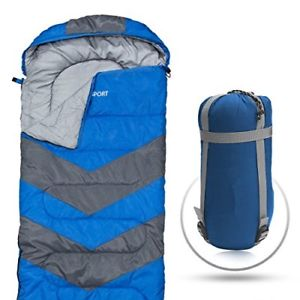 【送料無料】キャンプ用品 abcoテクノロジー ポータブルabco tech sleeping bag envelope lightweight portable, waterproof, comfort