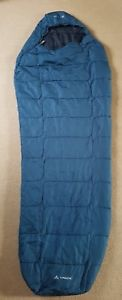【送料無料】キャンプ用品 バッグミイラvaudeスー400 syn 11vaude sioux 400 syn sleeping bag blue mummy 11