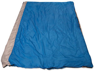 【送料無料】キャンプ用品 4シーズンダブルbluegrey convertible 4 season rated double rectangle camping sleeping bag
