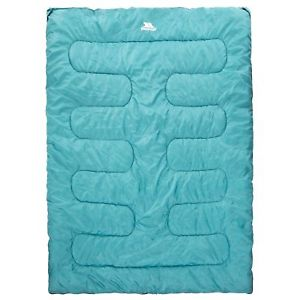 【送料無料】キャンプ用品 3tp2891trespass catnap 3 season double sleeping bag tp2891