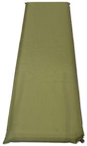 【送料無料】キャンプ用品 10cmマットレスベッドマット10cm single self inflating mat campingtravel mattress bed sleeping olive green