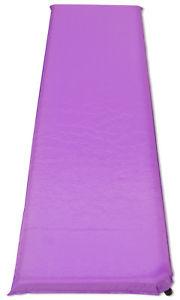 【送料無料】キャンプ用品 マットキャンプマットレスベッドライラック10cm single self inflating mat campingtravel mattress bed sleeping lilac